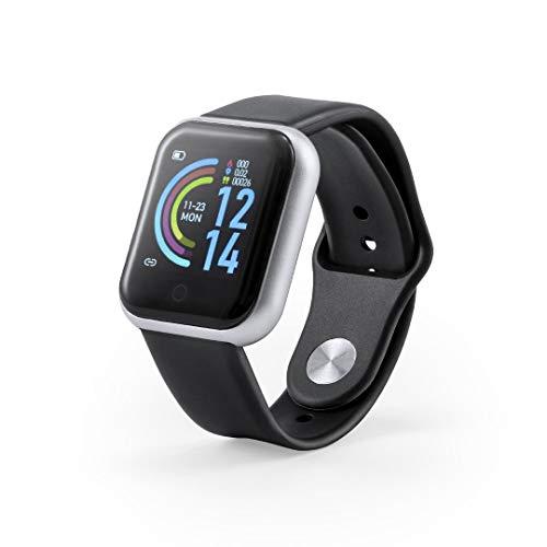 Smartwach, Reloj Inteligente, Pulsera de Actividad física, Reloj para Hombre y Mujer, App Disponible para iOS y Android, frecuencia cardíaca