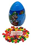 Super Mario Giant Easter Egg Filled with Smarties and Jelly Beans, 3.25 Ounces