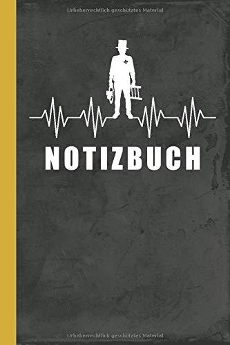 Notizbuch: Schornsteinfeger A5 - Lustiger Spruch Kaminkehrer