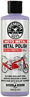 Chemical Guys MTO10616 Moto Line Moto Metal Polish Cleaner, Polish & Protectant for Motorcycles, 16 fl. oz, 1 Pack