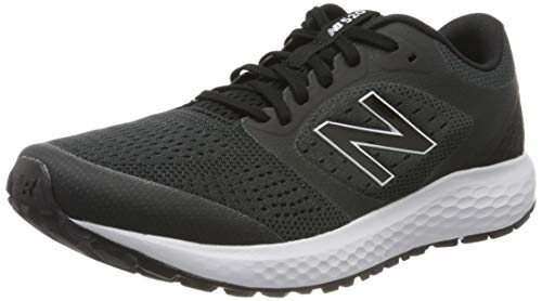 New Balance Men's 520 V6 Running Shoe, Black/Orca, 10.5 XW US