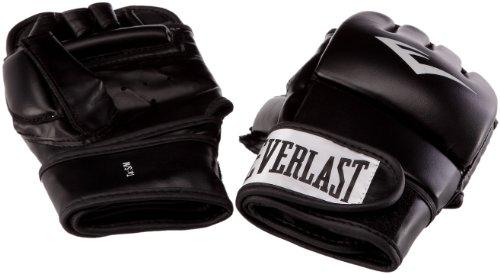 Everlast Erwachsene Boxhandschuhe Wristwrap Heavy Bag Glove Advanced, Black, S/M