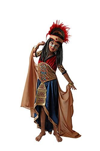 Costumizate! Disfraz de Maya para niña Talla 10-12 Especial para niños Fiestas de Disfraces o Carnaval