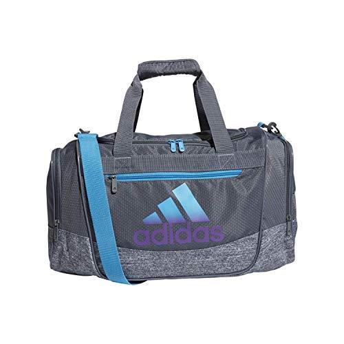 adidas Defender Iii Small Duffel, Legend Ink Blue/Hi-Res Coral/Glow...