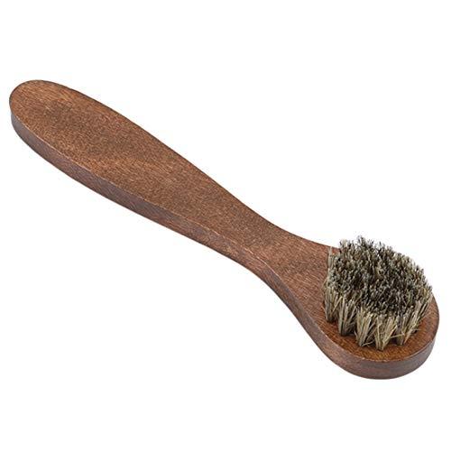 Yingwei VWH Hölzerne Reinigungsbürste Langer Griff Schuhbürste Staubpinsel für Zuhause liefert Reinigungswerkzeuge