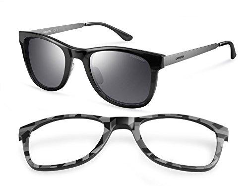 Carrera - Gafas de sol Rectangulares 5023/S Interchangeable, Negro