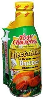 Tony Cacheres Creole Style Butter Injectable Marinade and Injector