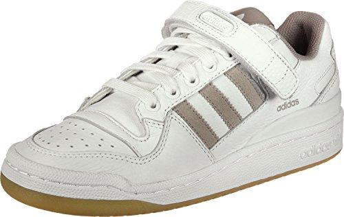 adidas Damen Forum Lo W Fitnessschuhe, Weiß (Ftwbla/Grivap/Gum3 000), 41 1/3 EU