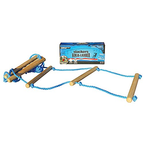 Learn More About Slackers 8 ft Rope Ladder - Best Outdoor Ninja Warrior Training Equipment For Kids ...