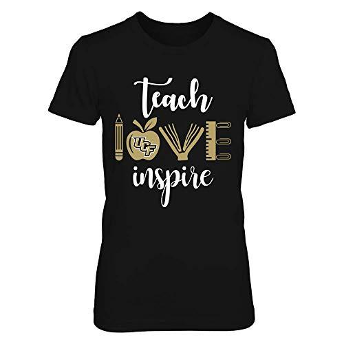 FanPrint UCF Knights T-Shirt - Teacher - Teach Love Inspire and Teacher Things - Premium Women