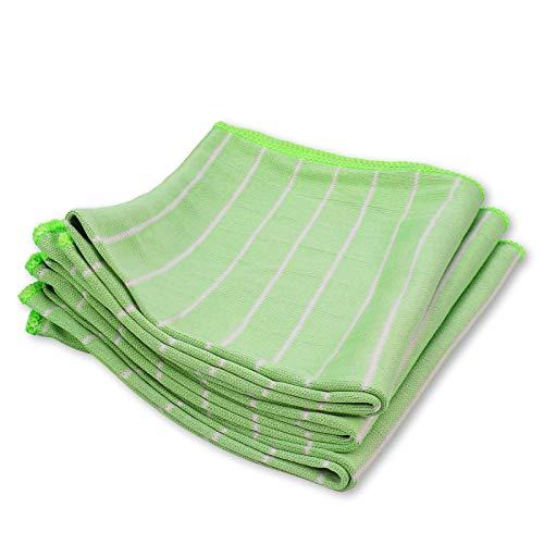 Bambus Shine Glastuch/Geschirrtuch 60x40 cm 3er Set - Bambustuch Bambustücher