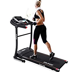 Sparnod Fitness STH-1200 (3 H.P. Peak) Automatic Treadmill