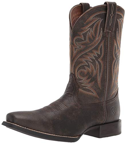 ARIAT Men's Sport Herdsman Western Boot, Brooklyn Brown, 13D