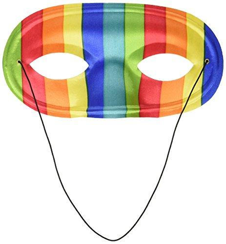 Forum Novelties Domino Mask, Rainbow