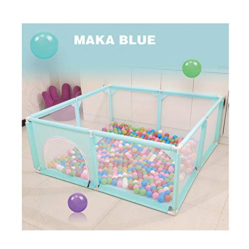 Great Deal! HANHJ Children's Playground Fence, Children's Fence, Game Center, Newborn Breathable Net...