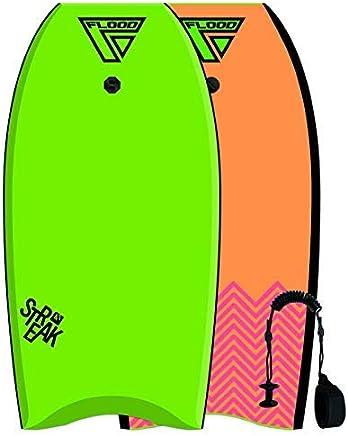 Bodyboard Sniper Leash DE Poignet Bodyboard Deluxe Coiled Black/Yellow Sports nautiques