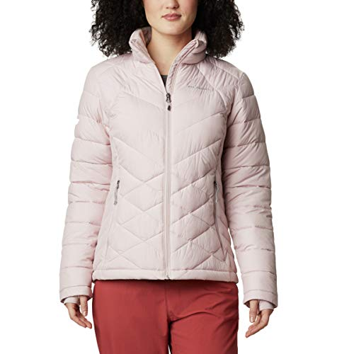 Columbia Women's Heavenly Jacket, Mineral Pink, X-Large