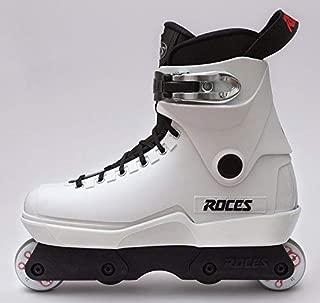 Roces M-12 White Lo Aggressive Inline Complete Skates Size 15
