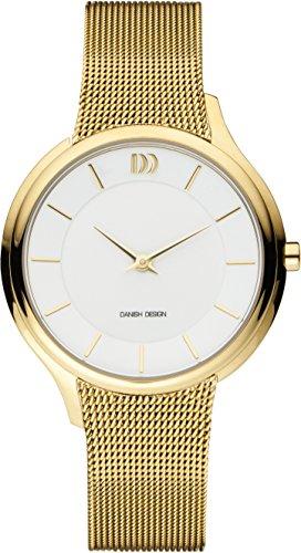 Danish Design dames analoog kwarts horloge met roestvrij stalen armband IV05Q1194
