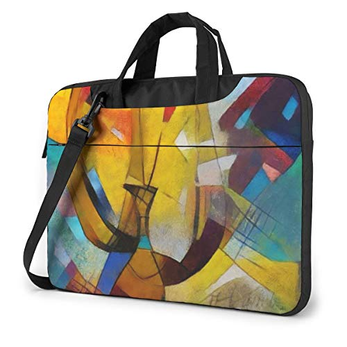 Ink Angle Alternative Picasso Laptop Case Laptop Briefcase Waterproof Bag for Office Workers