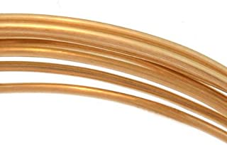 14K Gold Filled Wire 20 Gauge Round Dead Soft (5 Feet)