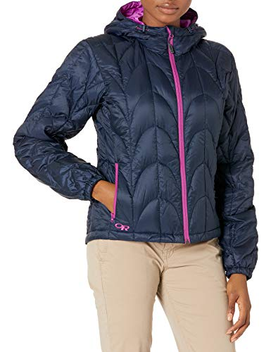 Outdoor Research Women's Aria Hoody, Night/Ultraviolet, X-Large