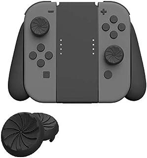 [Gooing] Switch スイッチ Joy-Con ジョイコン用 親指グリップキャップ (ブラック)