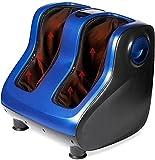 Lifepro Foot And Calf Massager- Heated Foot Massager & Deep Tissue Feet Massager Machine - Shiatsu Foot Massager for Plantar Fasciitis & Relaxation Leg Massagers For Pain and Circulation Calf Massager