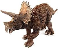 恐竜動物のおもちゃ先史時代のトリシャラトップ手作りモデルソリッドプラスチック教育ギフトエンターテイメントお気に入りのシミュレーションモデル恐竜