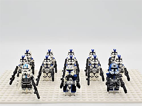 Star Wars Captain Rex 501st Clone Troopers Army Set 13pcs