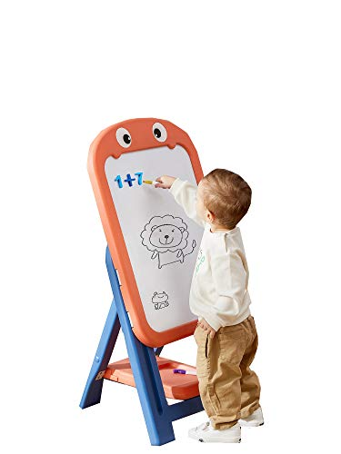 Tablero de Graffiti Magnético Borrable para Tablero de Dibujo para Niños, Tablero de Escritura para Niños, pizarra Blanca Libre de Polvo Para el Hogar, Pizarra para Bebés, Tablero para Limpiar con C