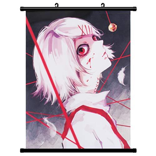 Wallscroll Wandbanner für Tokyo Ghoul Suzuya Juuzou Juzo Kakemono Rollbild Wandbild Stoff Poster Anime