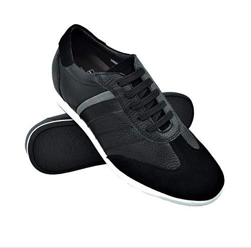 Zerimar Zapatos con Alzas Hombre  Zapatos Deportivos con Alzas Que Aumenta su Altura + 6,5 cm  Zapatillas Hombre de Vestir  Zapatos Hombre Casuales