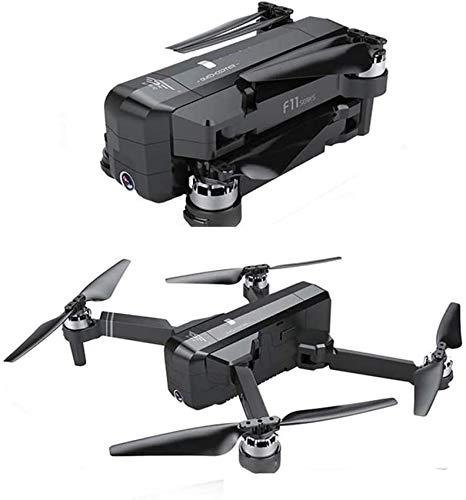 Mnjin Drone con cámara para Adultos Drone GPS Brushless 5G WiFi FPV con cámara 1080P Flujo óptico OLED Conmutable Remoto Sin escobillas Plegable RC Drone Quadcopter RTF