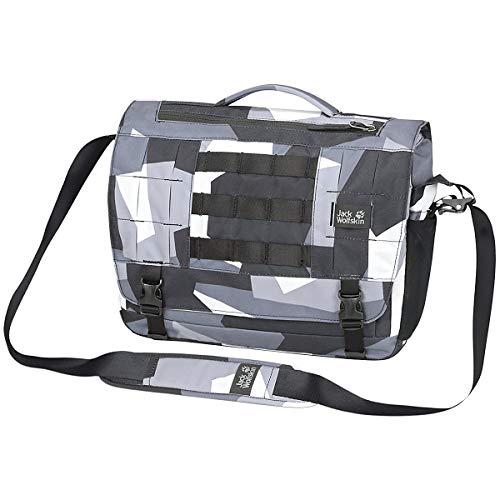 Jack Wolfskin Unisex– Erwachsene Trt Field Freizeittasche, Grey geo Block, One Size