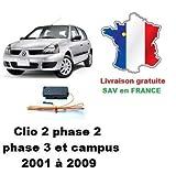 MJD Boitier de désactivation antidémarrage Renault Clio 2 Phase 2, Phase 3 ou Campus