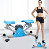 L NOW Mini Stepper for Indoor Workout, Adjustable Stair Stepper Exercise Equipment