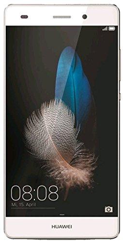 "Huawei P8 Lite - Smartphone de 5"" (cámara 13 MP, 16 GB, HiSilicon Kirin 620 Octa Core 1.2 GHz, 2 GB RAM, Android L), color blanco"