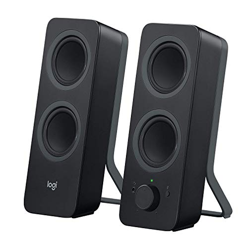 Logitech Z207 2.0 Multi Device Stereo Speaker (Black)