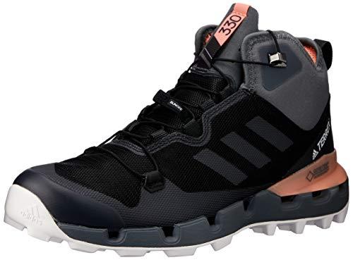 adidas adidas Damen Terrex Fast MID GTX-Surround W Trekking-& Wanderstiefel, Schwarz (Negbás/Gricin/Cortiz 000), 37 1/3 EU