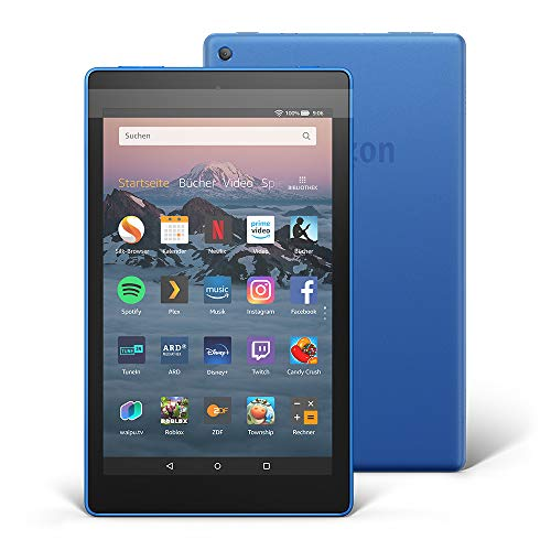 Fire HD 8-Tablet, 16 GB, Blau, mit Spezialangeboten (vorherige Generation – 8.)