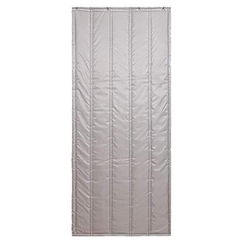 TCYLZ Verdikt winddicht deurgordijn, geluidsisolatie katoenen gordijn, waterdicht dikke Oxford-doek + drielaags gevuld katoen, geschikt voor gezinnen, supermarkt enz.