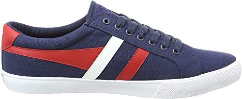 Gola Varsity, Zapatillas para Hombre, Azul (Navy/Red/White Er), 40 EU