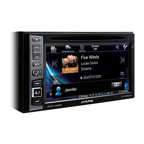 Alpine Electronics INE-W990HDMI Advanced Navi Station mit 6.1