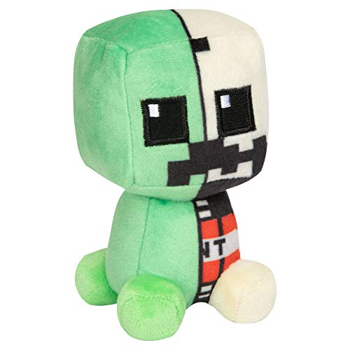 JINX 8992 Minecraft Mini Crafter Creeper Anatomy, 12 cm Plüsch