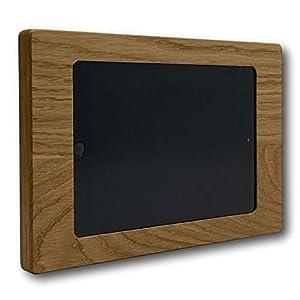 NobleFrames Tablet Halter für Apple iPad mini 1/2/3 | Eiche | Magnetische Wandhalterung aus Holz