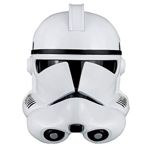 nihiug Star Wars: El Ascenso de Skywalker Las Tropas de Asalto/Imperial Stormtrooper de la máscara del Casco del Casco de Soldado clon Soldado Sith látex,Clone Soldier Helmet-OneSize