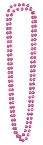 2 Collane di Perle Rosa per Adulto