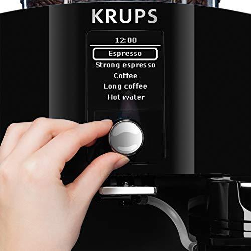 Einfache Bedienung des Kaffeevolltautomaten von Krups