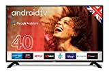 "Cello C4020G 40"" Smart Android TV with Freeview Play, Google Assistant, Google Chromecast"